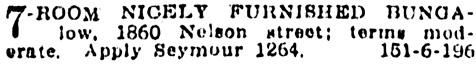 Vancouver Province, November 12, 1914, page 12, column 1.