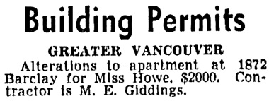 Vancouver Sun, September 4, 1941, page 23, column 7 [selected portions].