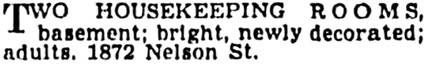 Vancouver Province, November 19, 1938, page 30, column 2.