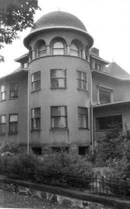 1873 Nelson Street [tentative identification], Deryck William Holdsworth, House and Home in Vancouver, Thesis, Ph.D., University of British Columbia, 1971, page 141; https://open.library.ubc.ca/cIRcle/collections/ubctheses/831/items/1.0095499.
