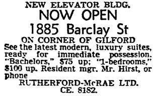Vancouver Sun, June 3, 1955, page 32, column 1.