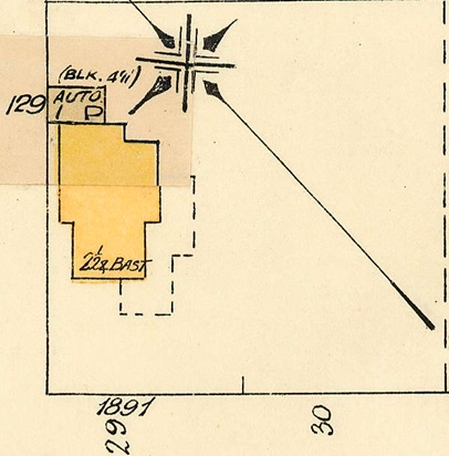 1891 Barclay Street; 1913, detail from Denman Street to Haro Street to Chilco Street to Comox Street; 1972-582.29 – Plate 54; Reference code: AM1594-MAP 383-: 1972-582.29; https://searcharchives.vancouver.ca/plate-54-denman-street-to-haro-street-to-chilco-street-to-comox-street.