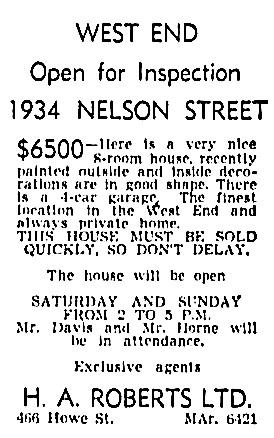 Vancouver Province, November 17, 1944, page 23, column 8.