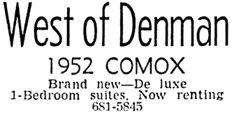 Vancouver Sun, May 16, 1964, page 35, column 6.