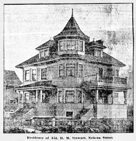 Vancouver Province, October 14, 1905, page 7, columns 3-4.