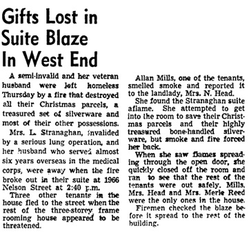 Vancouver Sun, December 20, 1946, page 6, column 4.