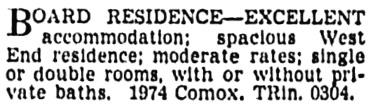 Vancouver Province, November 17, 1939, page 24, column 6.