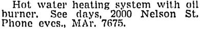 Vancouver Sun, June 14, 1950, page 43, column 6.