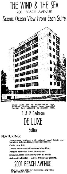 Vancouver Sun, June 4, 1960, page 39, columns 7-8.