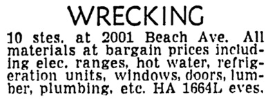 Vancouver Sun, May 22, 1959, page 31, column 4.