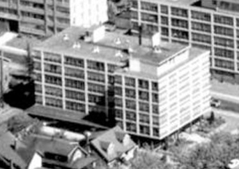 2005 Pendrell Street, 1962; detail from West End from the air, Vancouver City Archives; Air P96; https://searcharchives.vancouver.ca/west-end-from-air.