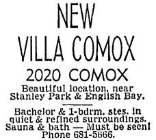 Vancouver Sun, August 30, 1969, page 49, column 3.
