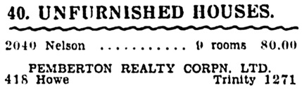 Vancouver Province, November 13, 1932, page 23, column 2 [selected and edited image].
