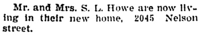 Vancouver Province, June 17, 1905, page 4, column 4.
