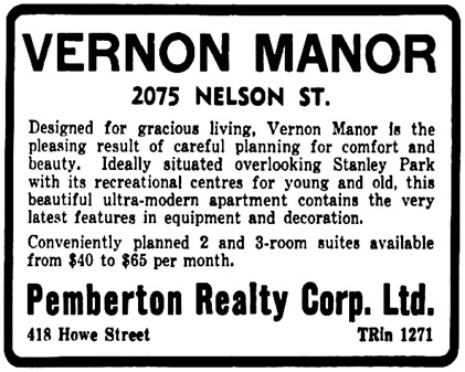 Vancouver Province, September 19, 1939, page 6, columns 7-8.