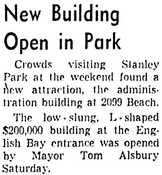 Vancouver Sun, February 19, 1962, page 19, column 6.