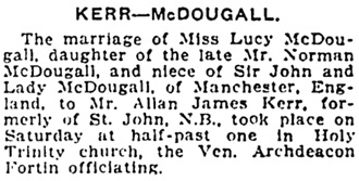 Winnipeg Tribune, June 17, 1912, page 9, column 5.