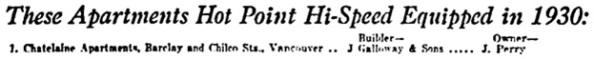 Vancouver Province, April 23, 1931, page 7.