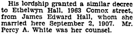 Vancouver Province, June 25, 1929, page 26, column 7.