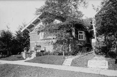 Exterior of the A.C. Hirschfeld home, 1963 Comox Street, Vancouver, about 1910; British Columbia Archives, Item I-68824; https://search-bcarchives.royalbcmuseum.bc.ca/exterior-of-c-hirschfeld-home-1963-comox-street-vancouver-2.