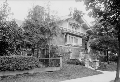 Exterior of the A.C. Hirschfeld home, 1963 Comox Street, Vancouver, about 1910; British Columbia Archives, Item I-68825; https://search-bcarchives.royalbcmuseum.bc.ca/exterior-of-c-hirschfeld-home-1963-comox-street-vancouver-3.