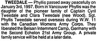 Vancouver Sun, January 7, 1997, page 21, column 4.