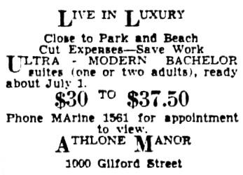 Vancouver Province, June 22, 1940, page 25, column 7.