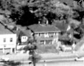 1781 Beach Avenue and 1789 Beach Avenue [formerly 1811 Beach Avenue and 1801 Beach Avenue]; 1962; detail from West End from the air, Vancouver City Archives; Air P96; https://searcharchives.vancouver.ca/west-end-from-air.
