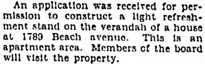 Vancouver Province, May 10, 1928, page 26, column 4.
