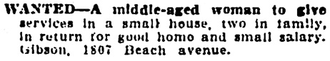 Vancouver Daily World, July 2, 1910, page 32, column 3.