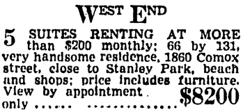 Vancouver Province, September 19, 1942, page 26, column 2.