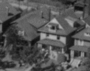1863 Comox Street and 1859 Comox Street; detail from First Beach, 1954; BO-54-211; http://vintageairphotos.com/bo-54-211/.