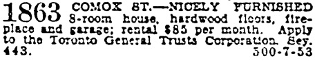 Vancouver Province, May 16, 1929, page 23, column 7.