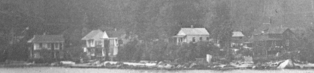 2000 Block of Beach Avenue, south side; detail from English Bay Beach looking towards Stanley Park, 1890s; Vancouver City Archives; Be P151; https://searcharchives.vancouver.ca/english-bay-beach-looking-towards-stanley-park.