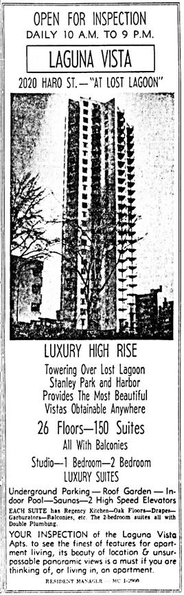 Vancouver Sun, March 25, 1966, page 44, columns 7-8.