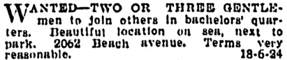Vancouver Province, April 17, 1915, page 21, column 2.
