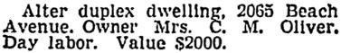 Vancouver Sun, April 12, 1940, page 27, column 1.