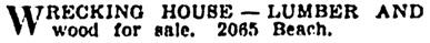 Vancouver Province, June 6, 1936, page 17, column 7.