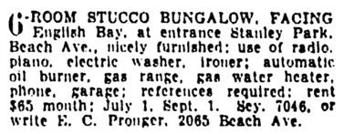 Vancouver Province, June 18, 1937, page 23, column 8.