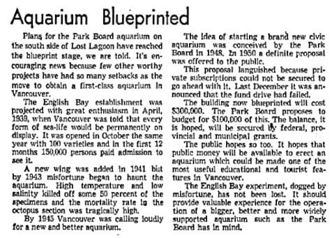 Vancouver Sun, March 24, 1952, page 4, columns 1-2.