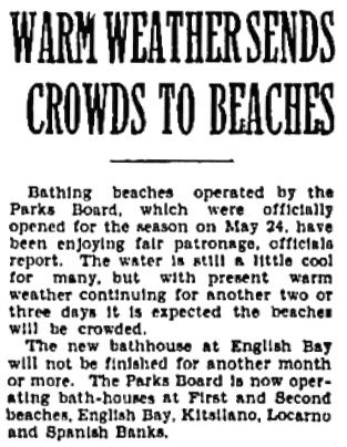 Vancouver Province, June 1, 1931, page 18, column 4.