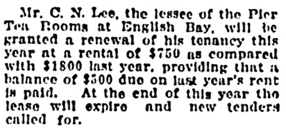 Vancouver Province, March 23, 1916, page 8, column 7.