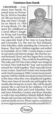 Arizona Republic (Phoenix, Arizona), December 2, 2018, page 20, column 2.