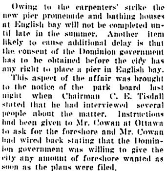 Vancouver Daily World, April 11, 1907, page 6, column 3.