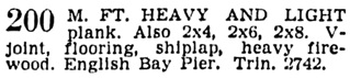 Vancouver Province, February 1, 1939, page 19, column 1.
