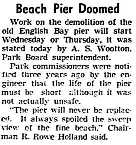Vancouver Sun, January 30, 1939, page 1, column 3.