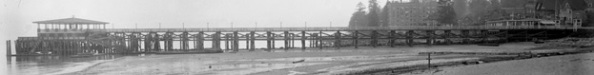 English Bay Pier, detail from English Bay Beach, English Bay Pier and Englesea Lodge, about 1912; Vancouver City Archives, CVA 71-18; https://searcharchives.vancouver.ca/english-bay-beach-english-bay-pier-and-englesea-lodge.