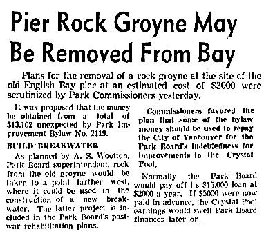 Vancouver Sun, January 9, 1943, page 26, columns 2-3.