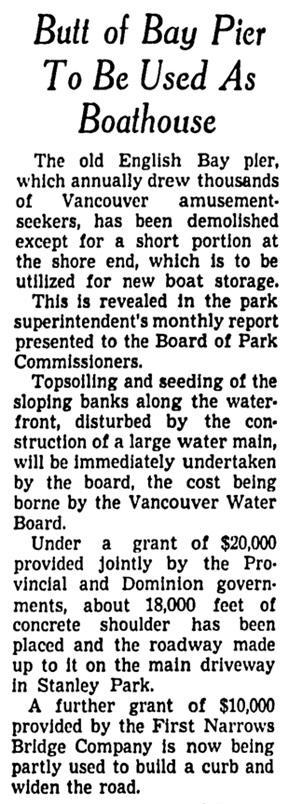 Vancouver Sun, March 1, 1941, page 19, column 8.