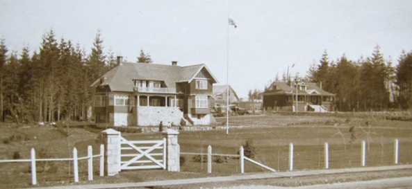 """""""Kerrisdale Manor,"""" on 41st Avenue at Vine, c. 1910; Photographer: Cyril Tweedale; collection of Cyril Tweedale."""